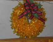 Edible Candy Wreaths.. They are back... Pull Apart Christmas Candies... Holiday... Birthday... Office Party...Open House... Christmas Party