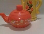 Vintage Avon Perfume Bottle Set - Koffee Klatch and Honeysuckle - Teapot