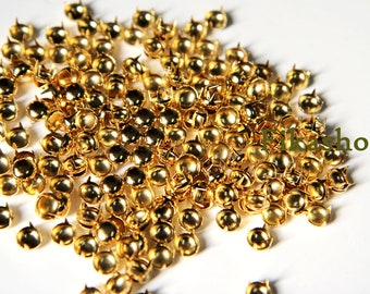 20% Off Clearance SALE: 16mm 20pcs Gold round studs / HIGH Quality - Fikashop