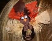 Turkey Hair Bow Sculpture