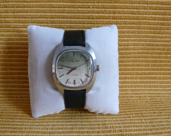 "USSR ""POLJOT""  (Flight) wrist watch 1960  unusual dial ultra rare 17 jewels VERY very good condition"
