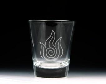 Avatar The Last Airbender - Legend of Korra Fire Nation Shot Glass