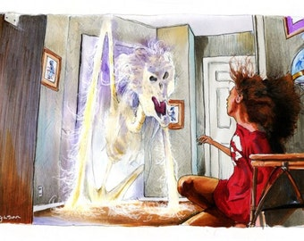 """Poltergeist - """"Don't touch my babies"""" 5""""x11"""" Art Poster Print"""