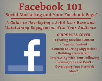 Facebook Guide - Social Marketing and Your Facebook Page