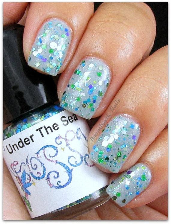 Under The Sea mini size glitter Custom Franken