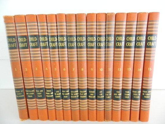 Vintage Child Craft Books Complete Set of 15