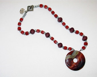 Asian Vibe Beaded Necklace