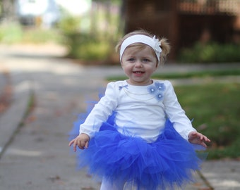 Baby Royal Blue Tutu Skirt