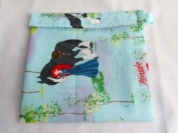 Brave/Merida Reusable Sandwich Bag
