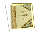 vintage Bible Promises card Bit O Bible Gems card