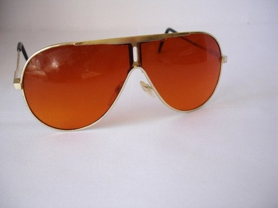Authentic Vintage Men's Copper Tint Sunglasses - See our huge collection of vintage eyewear