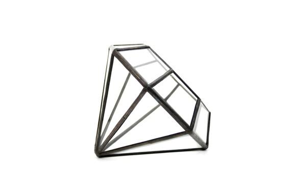 Diamond 2 //recycled glass// - Medium