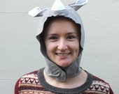Rhino Costume Hood/Hat  One-size-fits-all or Made to order