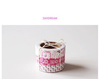 Roll Fabric Reform Tape Decoration for Diary Photo Note etc - DAYDREAM