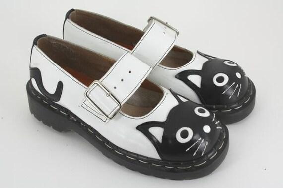 items similar to vintage cat platform shoes size