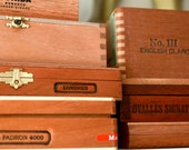 Re-Purposed Cigar Box