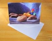 Happy Birthday photo card featuring our Brick  photos...Kayaker Birthday Card