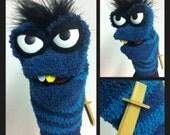 Pirate Sock Puppet