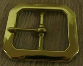 Belt Buckle, Solid Brass, Metal Buckle