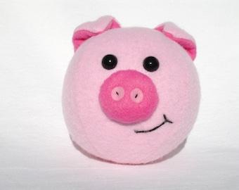 Pig plush ball toy