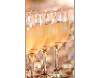 iPhone 5 case White Wine Glass Art Print Photo iPhone Cover