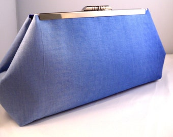 Blue Ombré Clutch