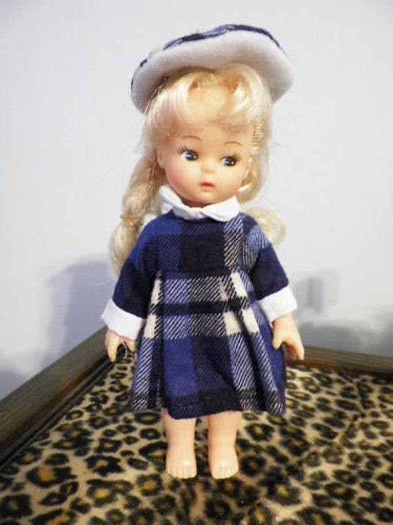 "Playmates Tiara Doll, I think her name is ""Billie""  6 1/2 inch light weight plastic"