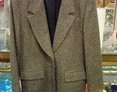 PENDLETON Women's blazer Size 16- 100% virgin wool