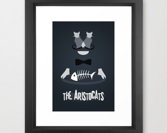 Disney's The Aristocats Minimalist Poster