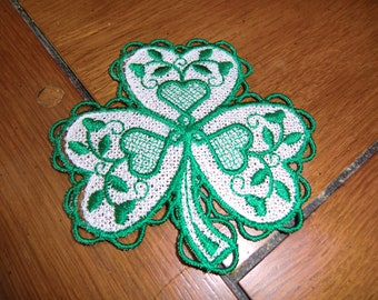Embroidered Magnet - Shamrock