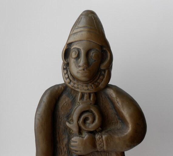 St. Patrick - Celtic Statue - Irish Art, Irish Gift