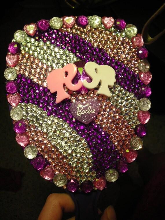 Barbie Bling Purple Mirror