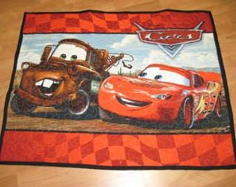 Cars Baby or Toddler Quilt/Wallhanging