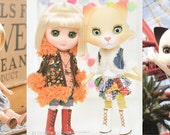 Sewing pattern lot for Odeco, Nikki doll. Fits Middie Blythe.