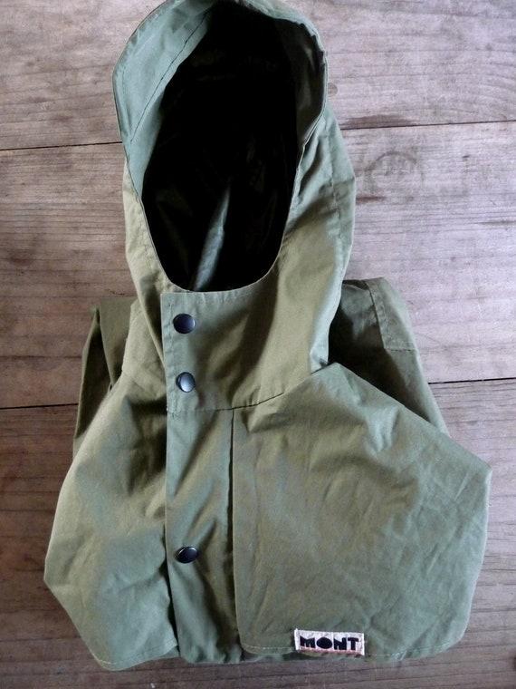Australian Made Vintage Khaki Men's Mont Anorak Small