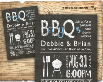 baby q baby shower invitation bbq baby shower invite diy barbecue coed