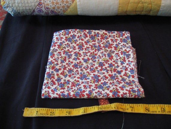 Feedsack Fabric from the 1930's 100% Vintage Feedsack Feed Sack