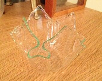 Vintage Petite Handkerchief Vase