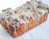 Bread Pudding with a Bourbon Butter Glaze