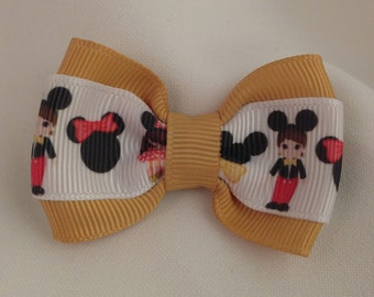 Mickey and Minnie Minis Hair Bow - 2 inches