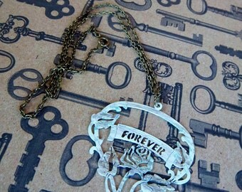 Vintage Shabby Inspired Forever Necklace
