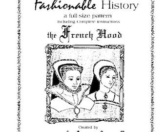 French Hood Pattern Queta's Closet Pattern  no.110