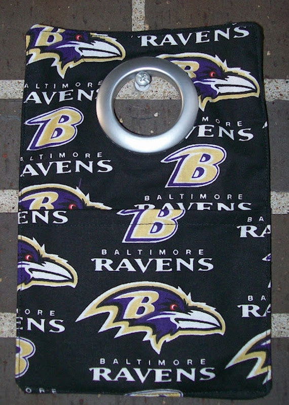 Phone charger station - Phone holder - Baltimore Ravens Fabric