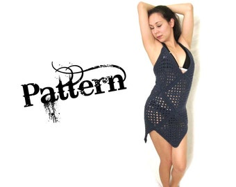 Swimsuit Beach Cover Up Crochet Pattern