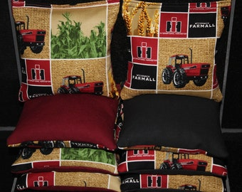 INTERNATIONAL HARVESTER Farmall Cornhole Bean Bags ACA Regulation Corn hole Bags