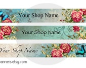 ETSY BANNER SET Romantica Etsy Shop Banner and Avatar