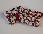 Hello Kitty sandwich wrap and reusable bag combo