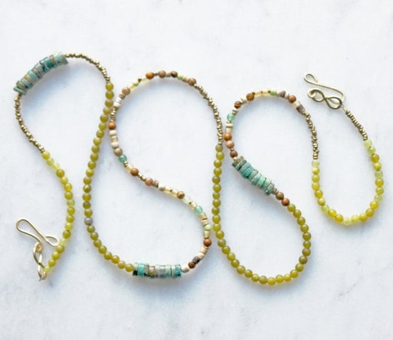 bohemian jewelry handmade jewelry beaded by prairiefunk