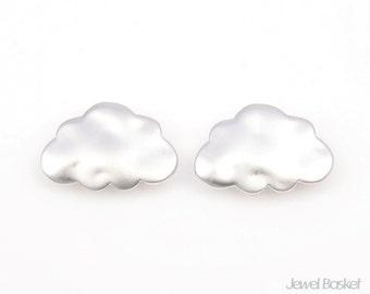 BMS069-C (4pcs) / Cute Cloud Connector / 11mm x 17mm