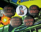 Marceline - Adventure Time Button Badge Set.
